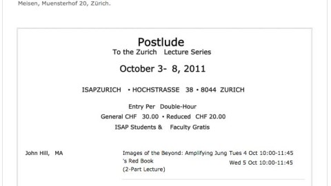 ISAPZURICH & SPRING JOURNAL BOOKS PRESENTS…