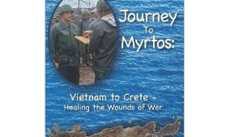 Journey to Myrtos: Vietnam to Crete–Healing the Wounds of War by Robert Mitchell