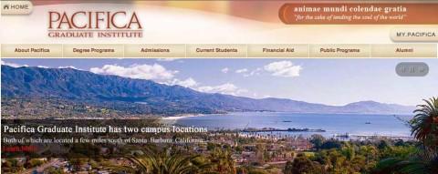 Pacifica Graduate Institute  invites you to participate in a Master Class