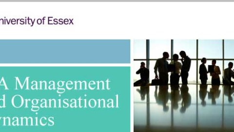 MA Management and Organisational Dynamics