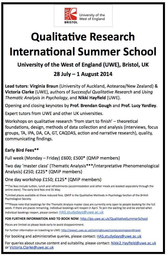 Qualitative-Research-International-Summer-School-
