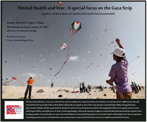 Mental Health and War: A Special Focus on Gaza