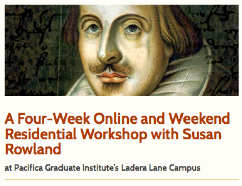 A Four-Week Online and Weekend Residential Workshop with Susan Rowland