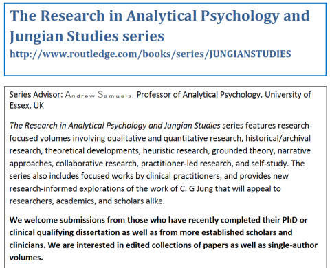 The Research in Analytical Psychology and Jungian Studies – Submissions Welcomed!