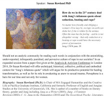 Jung for/with Feminism? The Gendered Imagination and Jung's Famous Quote