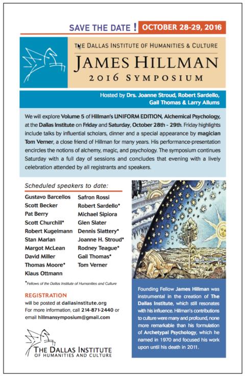 James Hillman 2016 Symposium
