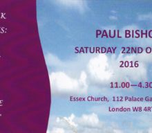 Paul Bishop Saturday 22nd October 2016