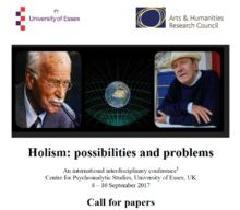 CFP: Holism: possibilities and problems