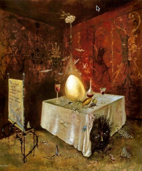 THE ARTIST DINING ROOM: LEONORA CARRINGTON The Artist Dining Room at Guest Projects
