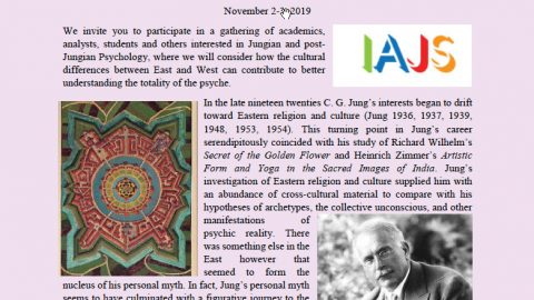 IAJS Regional Japan Conference Call For Papers: Jungian Psychology:  East and West, encountering differences