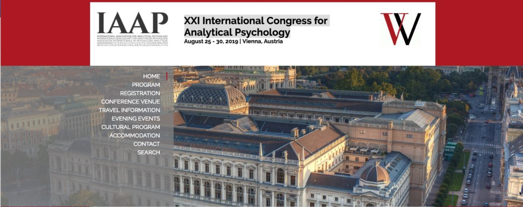 XXI International Congress for Analytical Psychology August 25 - 30, 2019 | Vienna, Austria